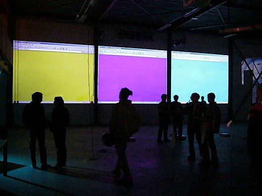 secondary colors peter luining netart 2006