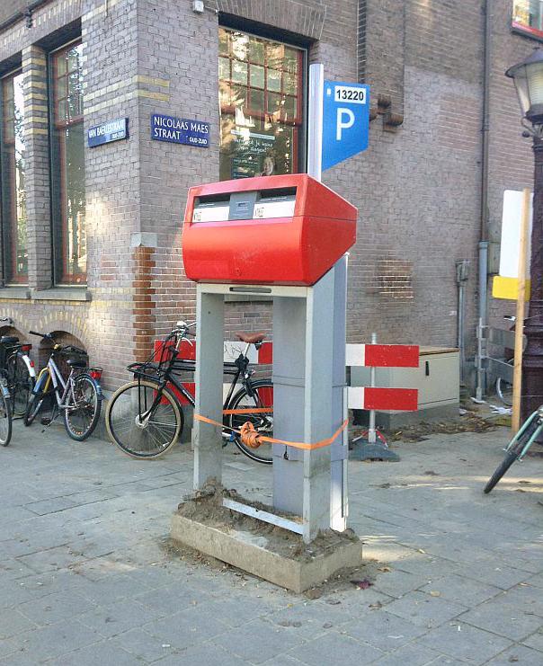mailbox postnl brievenbus van baerlestraat