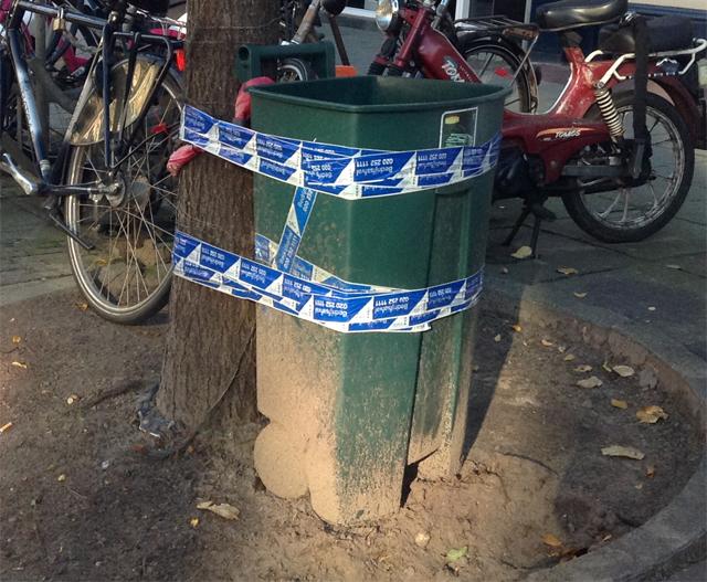 afvalbak peter luining